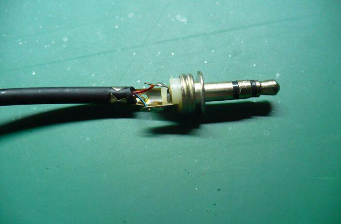 Wymiana wtyczki kabla Jack 3m5mm